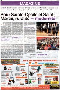 Article Vendée Agricole 25 09 2015