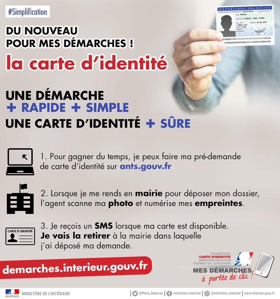 documents carte identité